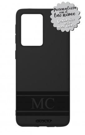 Rubber case Samsung S20 Ultra - InizialiFascia max 5 caratteri