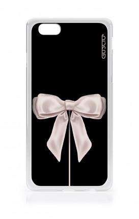 Cover Apple iPhone 7/8  - Satin White Ribbon