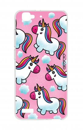 Cover Huawei P8 Lite SMART - Unicorns in the clouds