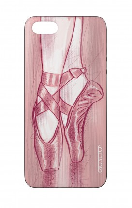 Apple iPhone 5 WHT Two-Component Cover - Ballet Slippers