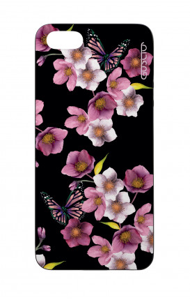 Cover Bicomponente Apple iPhone 5/5s/SE  - Fiori di ciliegio