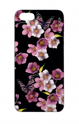 Apple iPhone 5 WHT Two-Component Cover - Cherry Blossom