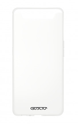 Cover Crystal Samsung A80 - Logo