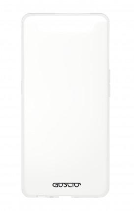 Cover Crystal Samsung A80 Trasparente - Logo