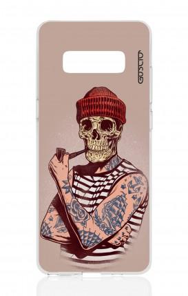 Cover Samsung NOTE 8 - Marinaio teschio