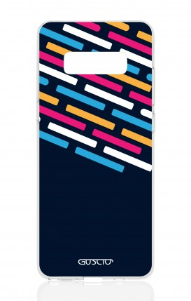 Cover Samsung NOTE 8 - Stripes on Dark Blue