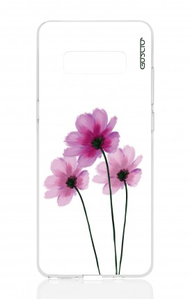 Cover Samsung NOTE 8 - Flowers on white