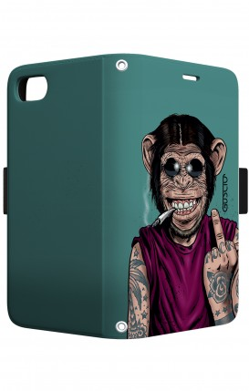 Case STAND VStyle EARS Apple iph7/8 - Scimmia felice