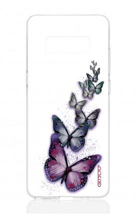 Cover TPU Samsung NOTE 8 - Volo di farfalle
