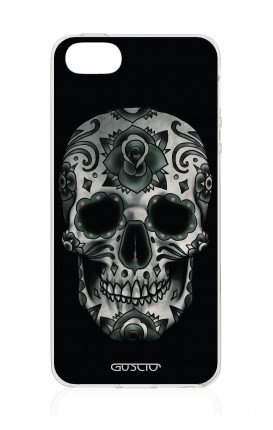 Cover TPU Apple iPhone 5/5s/SE - Dark Calavera Skull