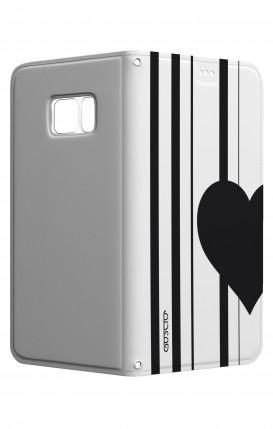 Cover STAND SAMSUNG S7 Edge - Cuore a metà