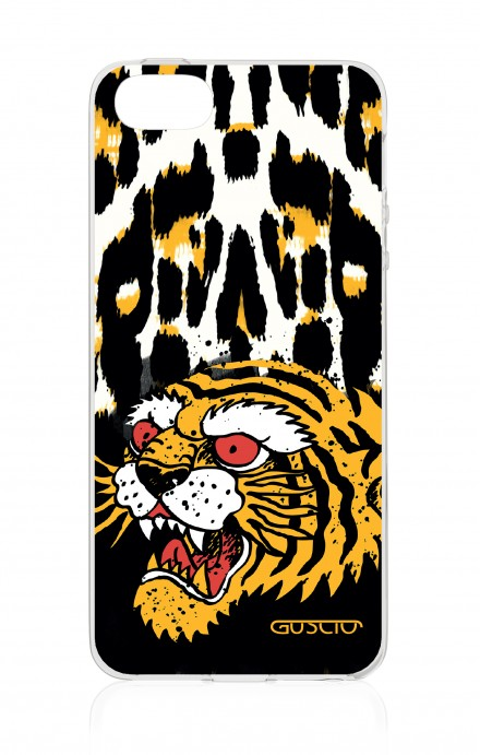 Cover Apple iPhone 5/5s/SE - Tigre e maculato