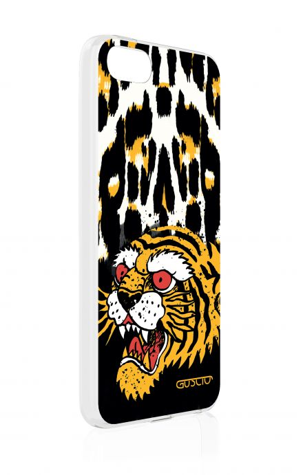 Cover Apple iPhone 5/5s/SE - Tiger Animalier