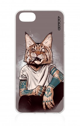 Cover Apple iPhone 5/5s/SE - Lince Tattoo