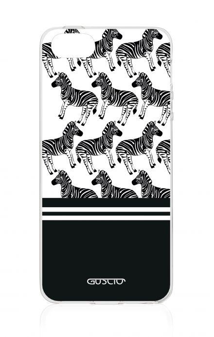 Cover Apple iPhone 5/5s/SE - Zebre bianconere