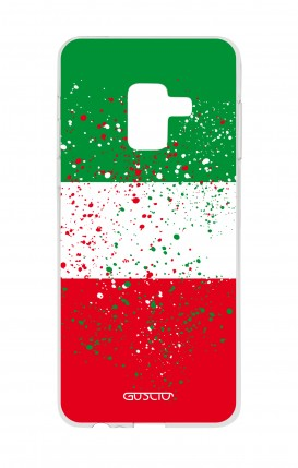 Cover Samsung A8 A5 2018 - Bandiera italiana