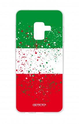 Cover Samsung A8 A5 2018 - Italy flag