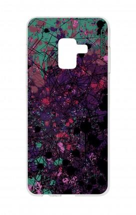 Cover Samsung A8 A5 2018 - Spruzzo di colori