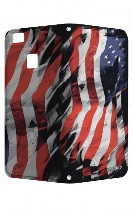 Cover STAND HUAWEI P9 Lite - Bandiera americana