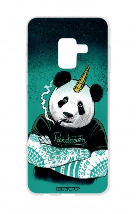 Cover Samsung A8 A5 2018 - Pandacorno tatuato