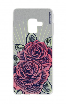 Cover Samsung A8 A5 2018 - Roses