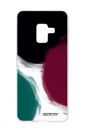 Cover TPU Samsung A8 A5 2018 - Grandi pois