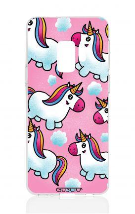 Cover TPU Samsung Galaxy S9 - unicorni volanti
