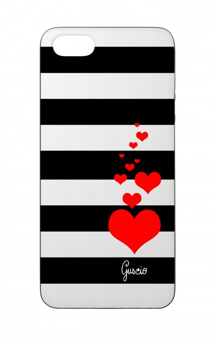 Cover Bicomponente Apple iPhone 5/5s/SE  - Loving Stripes