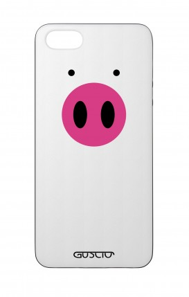 Apple iPhone 5 WHT Two-Component Cover - Pig