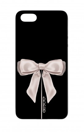 Apple iPhone 5 WHT Two-Component Cover - Satin White Ribbon
