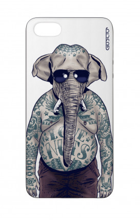 Cover Bicomponente Apple iPhone 5/5s/SE  - Uomo elefante bianco