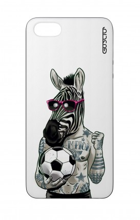 Cover Bicomponente Apple iPhone 5/5s/SE - Zebra bianco