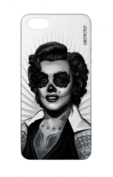 Apple iPhone 5 WHT Two-Component Cover - WHT Marilyn Calavera