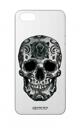 Apple iPhone 5 WHT Two-Component Cover - WHT DarkCalaveraSkull