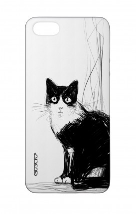 Apple iPhone 5 WHT Two-Component Cover - B&W CAT