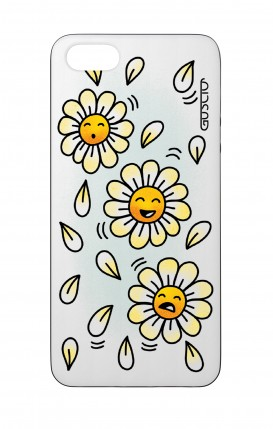 Apple iPhone 5 WHT Two-Component Cover - WHT DaisyMoji
