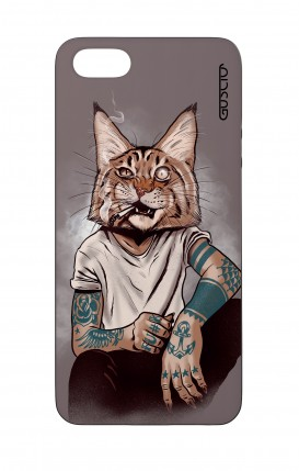 Cover Bicomponente Apple iPhone 5/5s/SE - Lince Tattoo