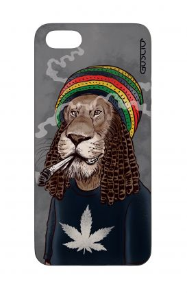 Cover Bicomponente Apple iPhone 5/5s/SE  - Leone Rasta