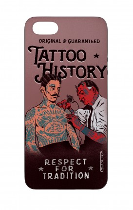 Apple iPhone 5 WHT Two-Component Cover - Tattoo History