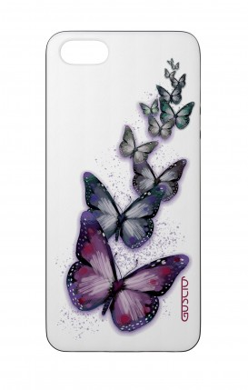Apple iPhone 5 WHT Two-Component Cover - Butterflies