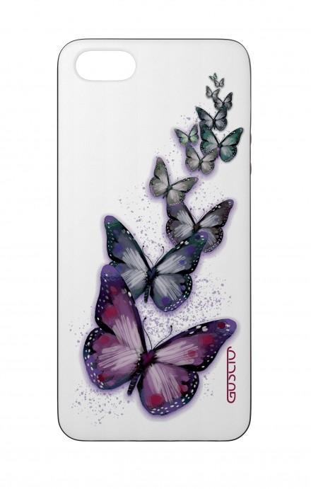 Cover Bicomponente Apple iPhone 5/5s/SE  - Volo di farfalle