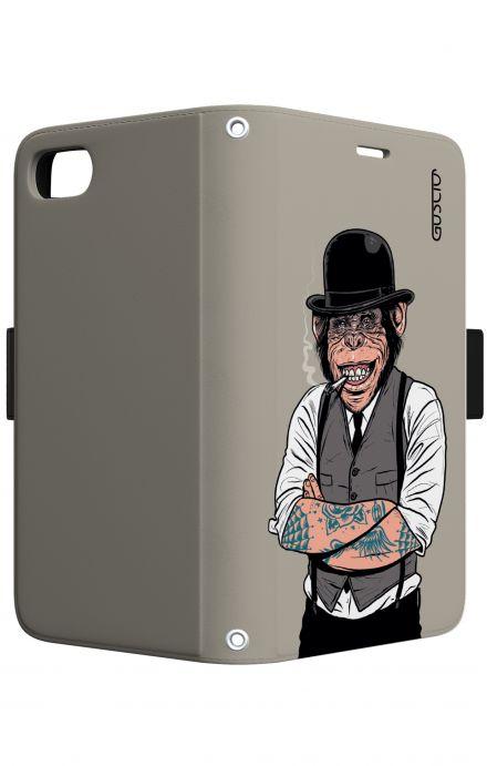 Cover Samsung Galaxy S5/S5 Neo - Calavera bianco e nero