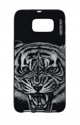 Cover Bicomponente Samsung S6 - Tigre nera