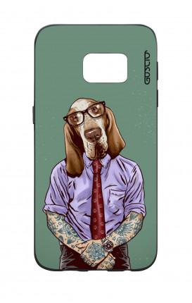 Cover Bicomponente Samsung S7  - Bracco italiano tatuato