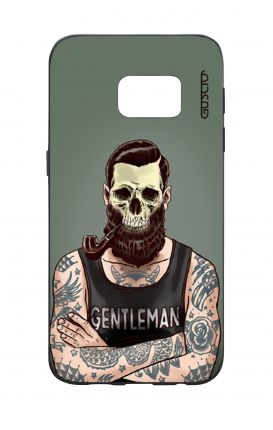 Samsung S7 WHT Two-Component Cover - Another Gentleman
