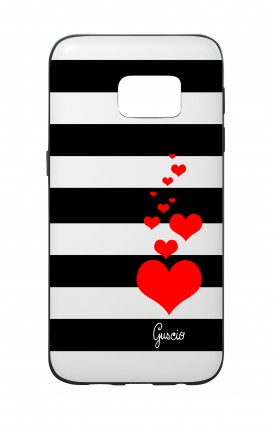 Cover Bicomponente Samsung S7 - Loving Stripes