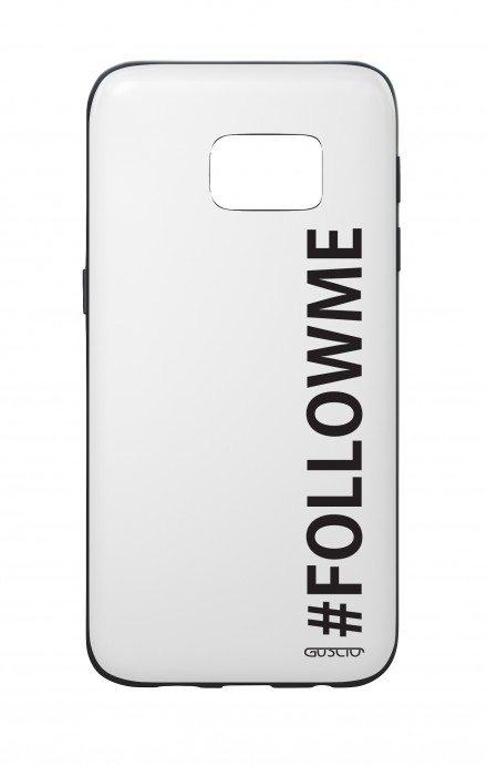 Samsung S7 WHT Two-Component Cover - #FOLLOWME
