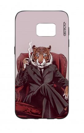 Cover Bicomponente Samsung S7  - Tigre elegante