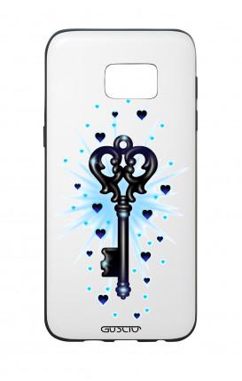 Cover Bicomponente Samsung S7 Edge  - La chiave dei desideri