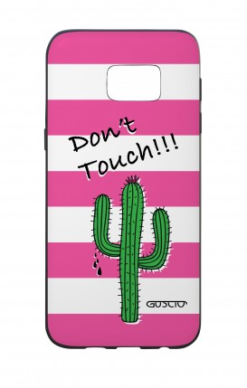 Cover Bicomponente Samsung S7 Edge - Cactus Don't Touch